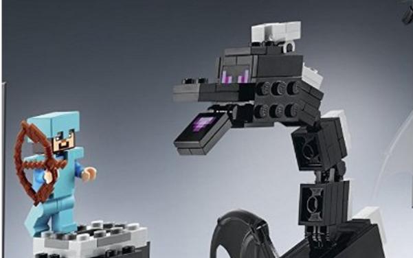 Taming Ender Dragon Lego