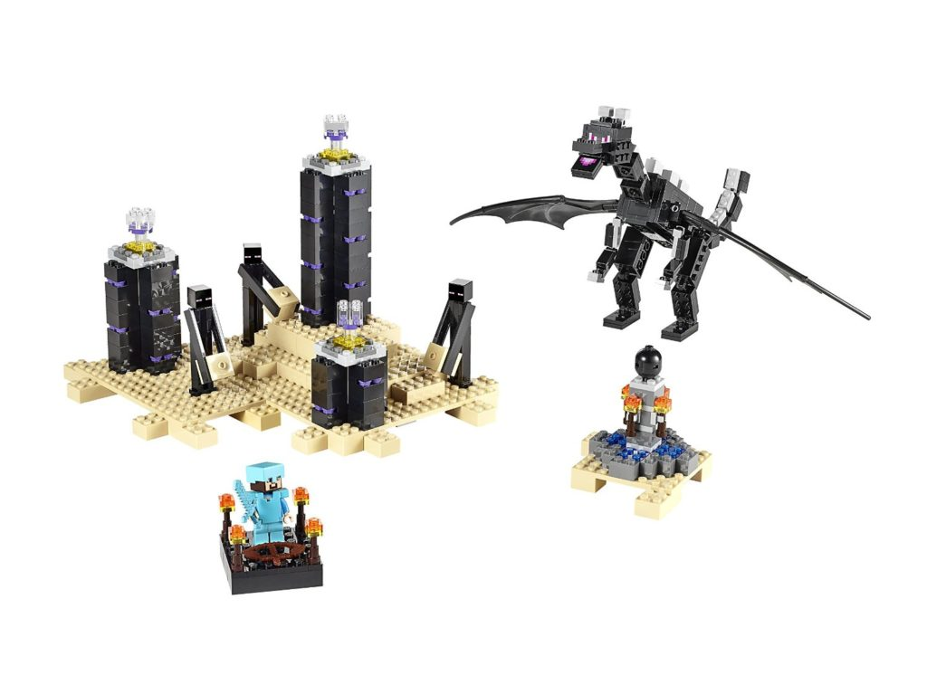 Minecraft The Ender Dragon Lego