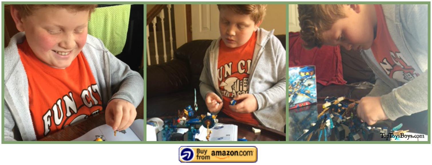 Axel Benny Spaceship Lego Set