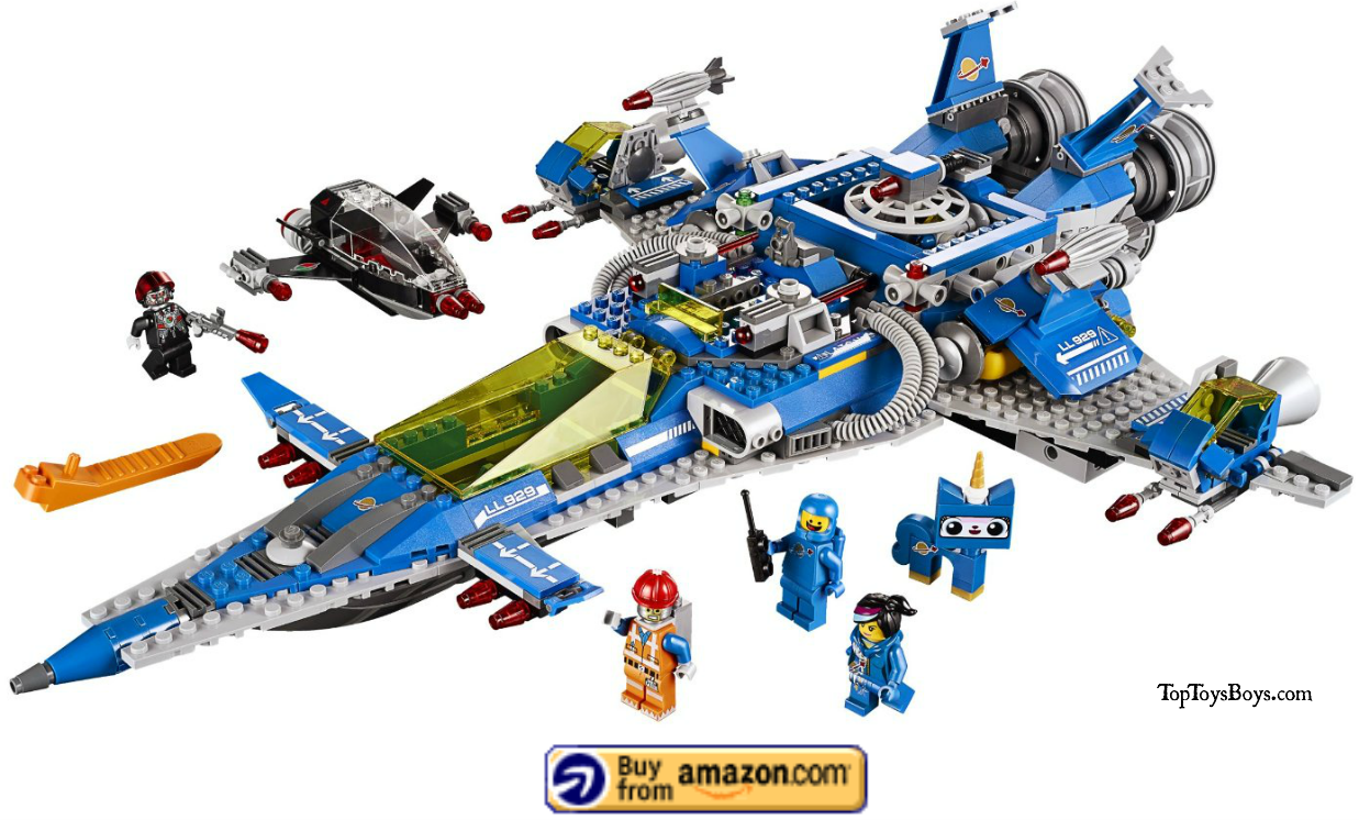 Bennys Lego Space Ship