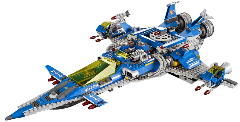 Benny's Spaceship Lego Set