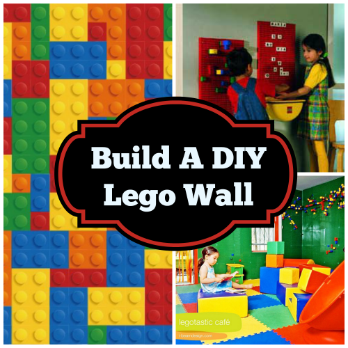 Build DIY Lego Wall Collage