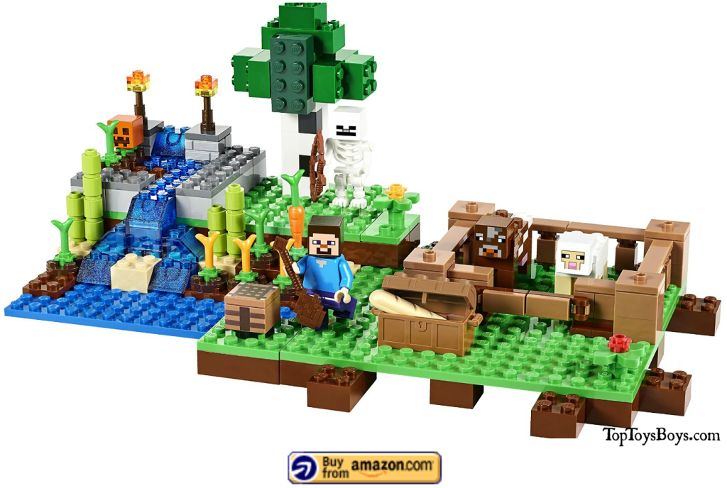 Minecraft Farm Lego Set