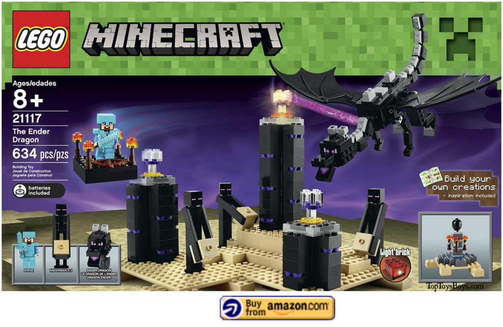 The Ender Dragon Lego Minecraft Set