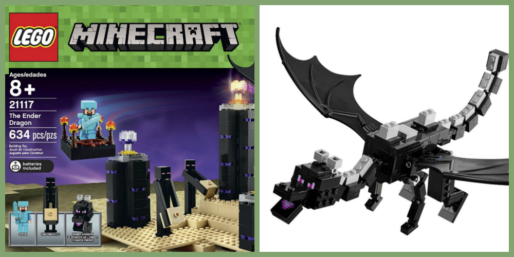 The Ender Dragon Minecraft Lego