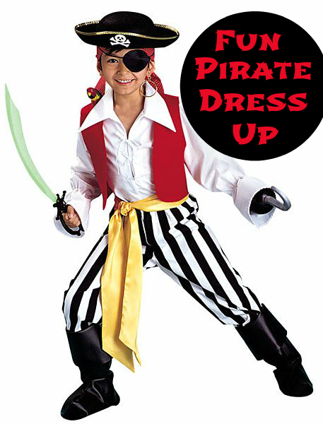 Pirate Dress Up Costume