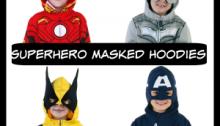 Boys Superhero Hoodies