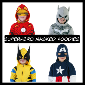 Boys Superhero Hoodies
