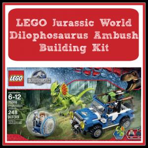 LEGO Jurassic World Dilophosaurus Ambush Building Kit