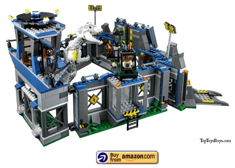 indominus rex breakout lego set