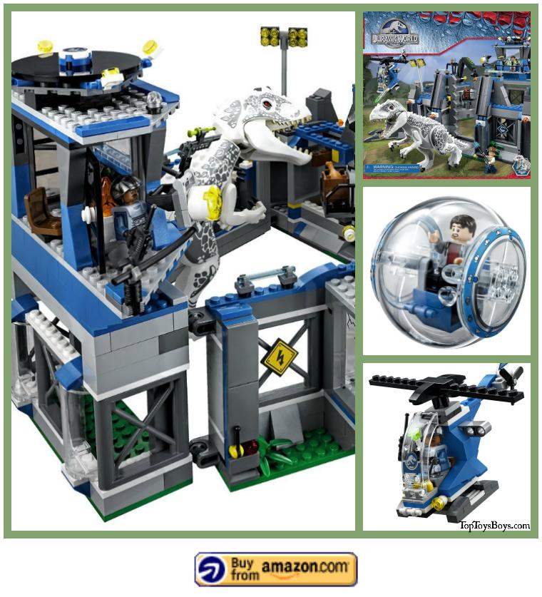 indominus rex breakout legos 2