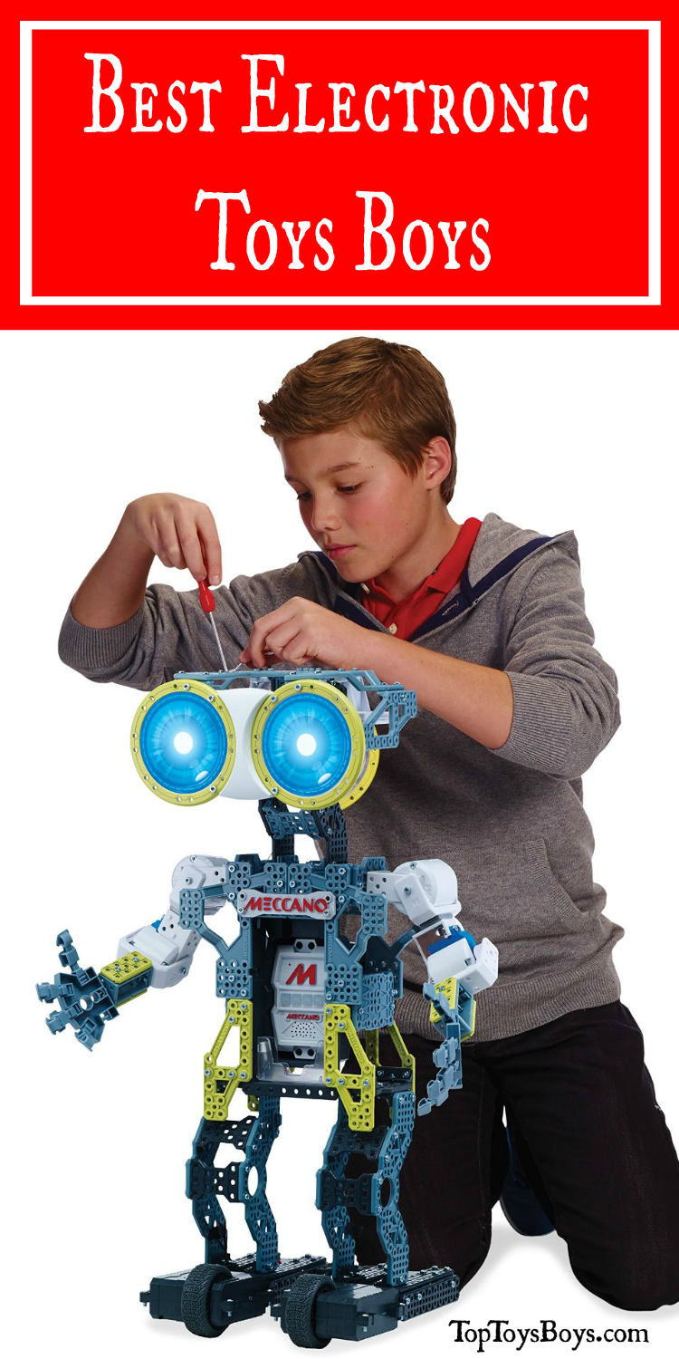 Electronic Gifts for Boys - Dinosaurs, Copters, Robots! How Fun!