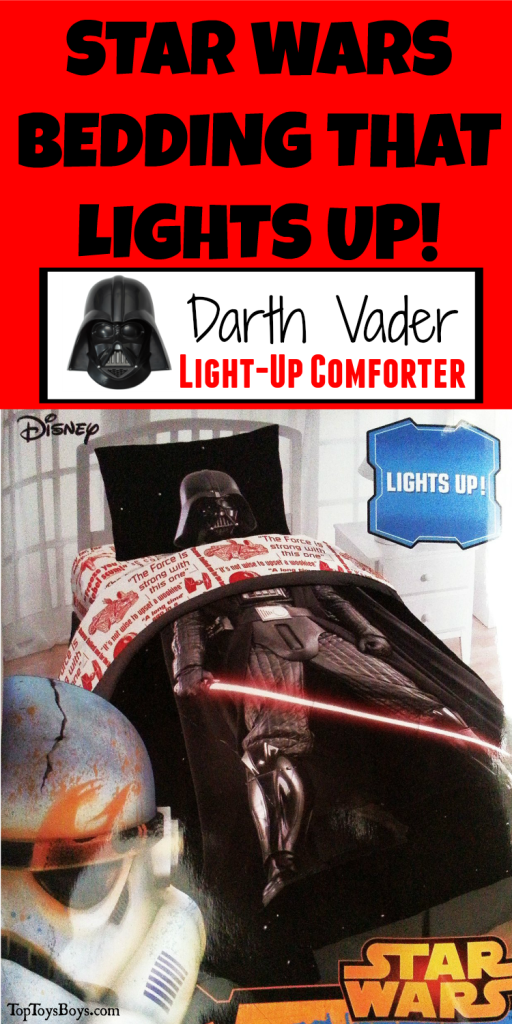 Star Wars Bedding for Kids that lights up