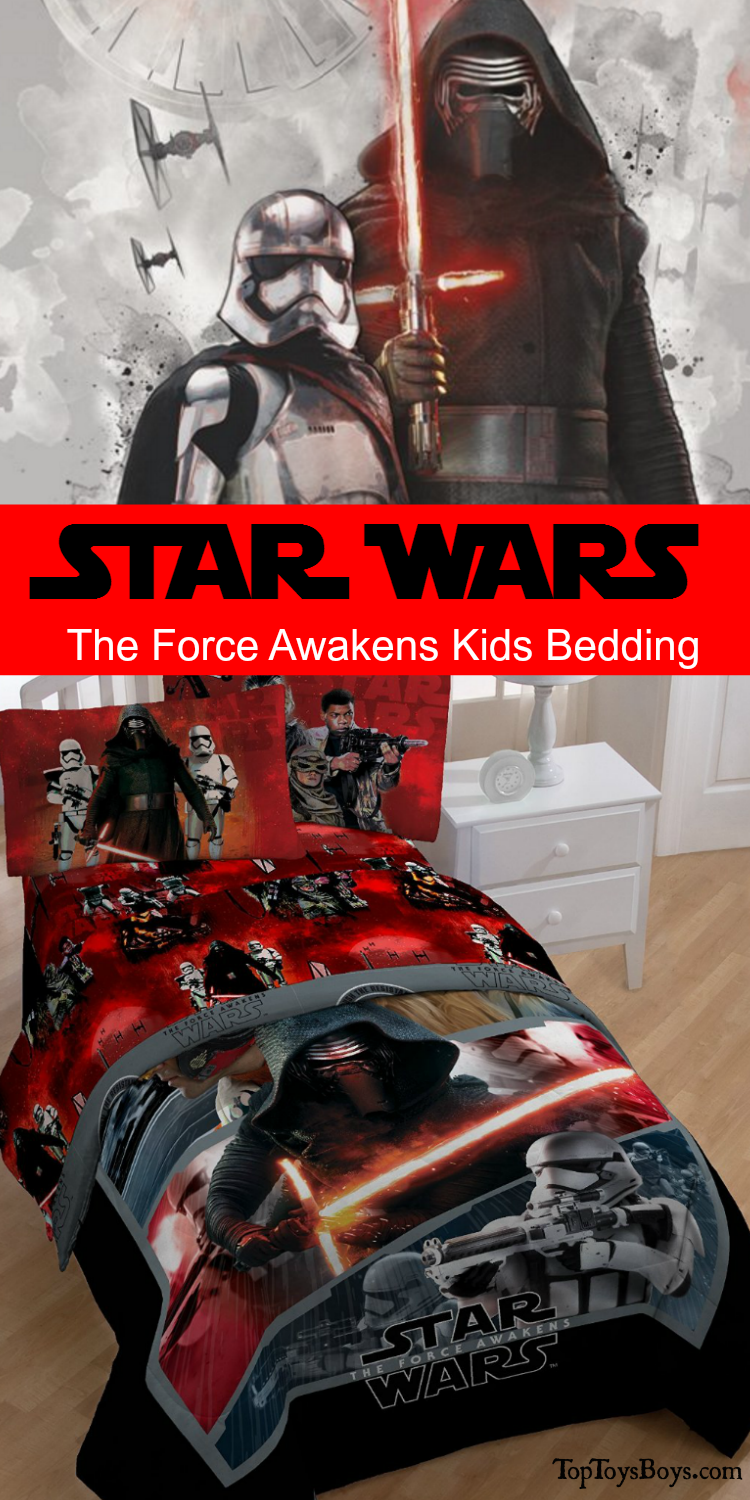 Star Wars The Force Awakens Kids Bedding