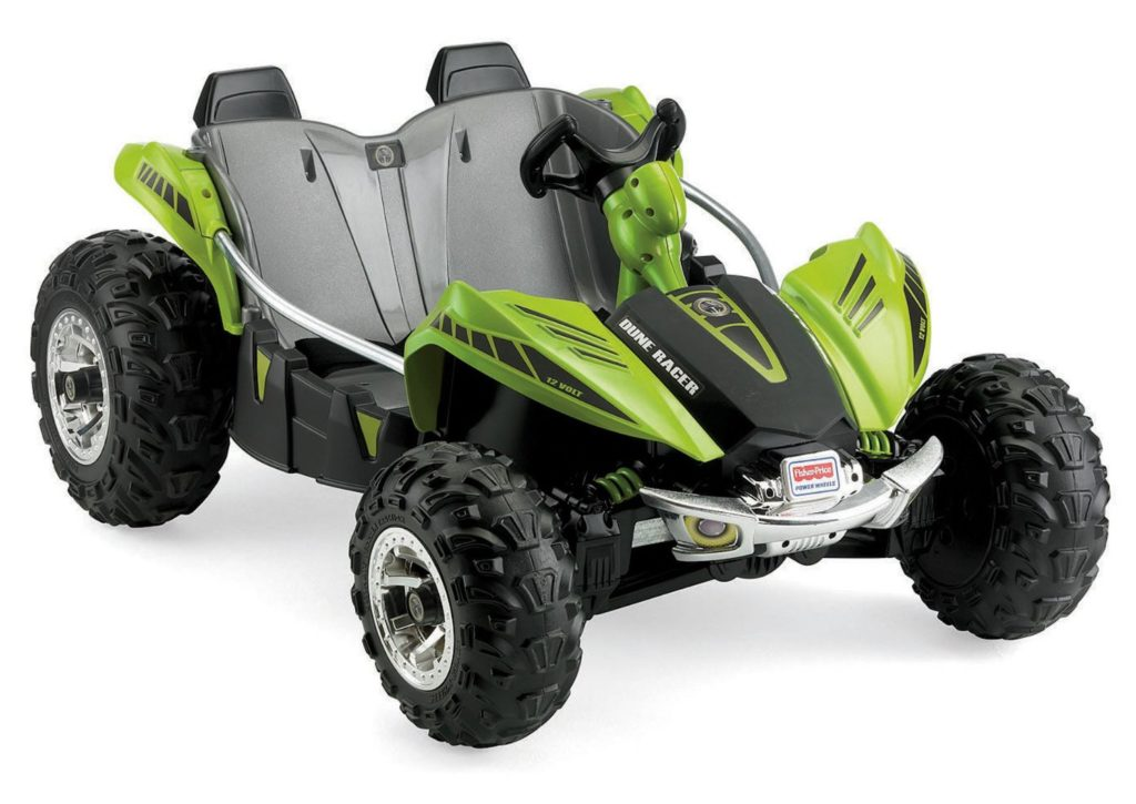 Green Power Wheels Dune Racer