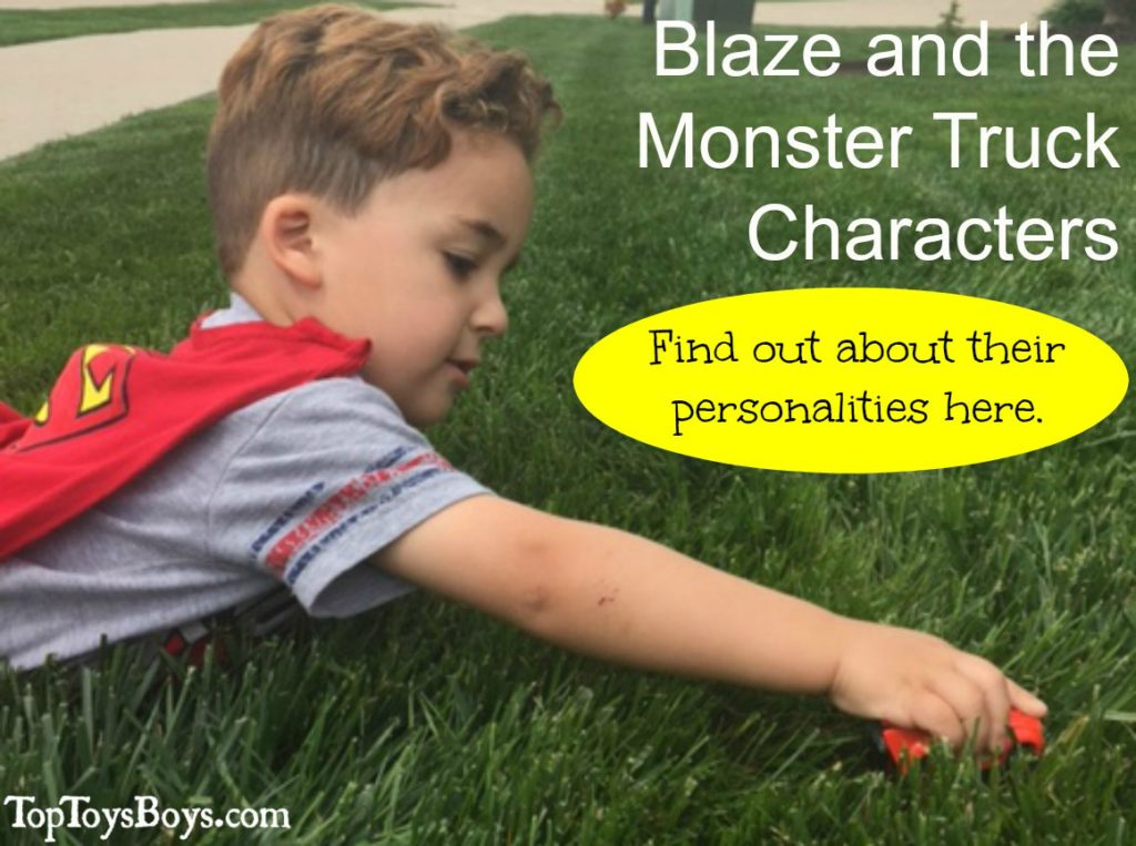 Blaze and the Monster Truck Characters 3