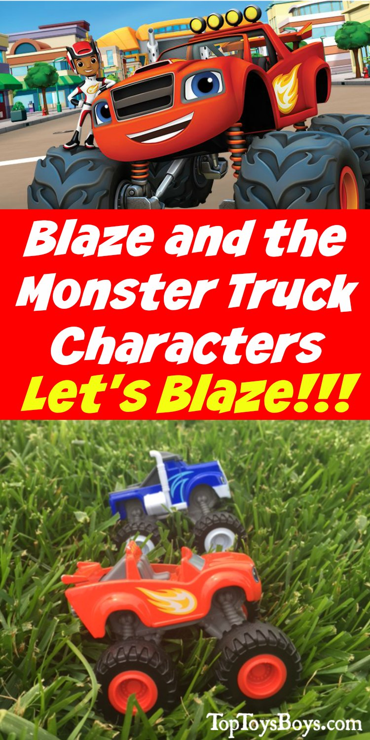 Blaze and the Monster Truck Characters - Find out what each character is like