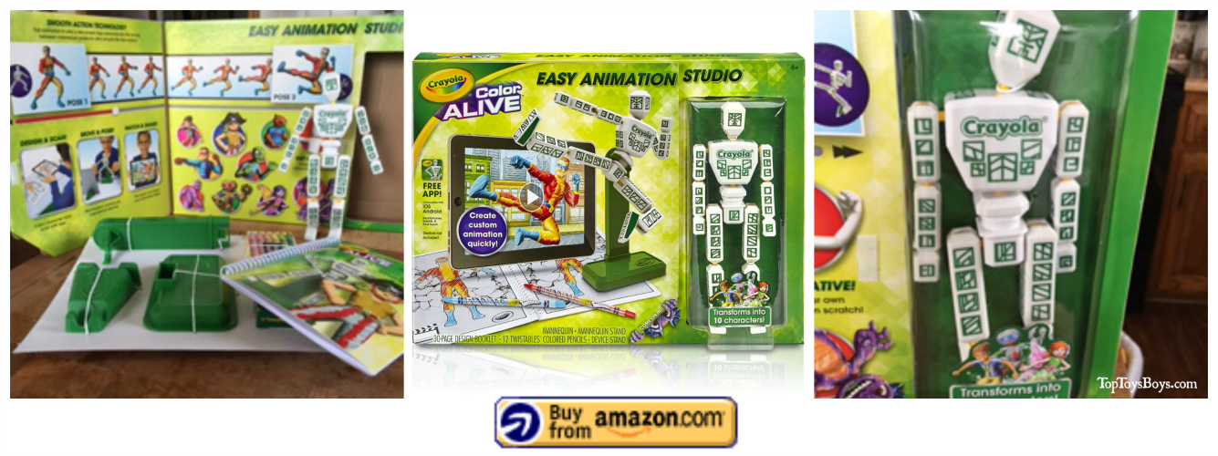 Crayola Color Alive Easy Animation Studio 4