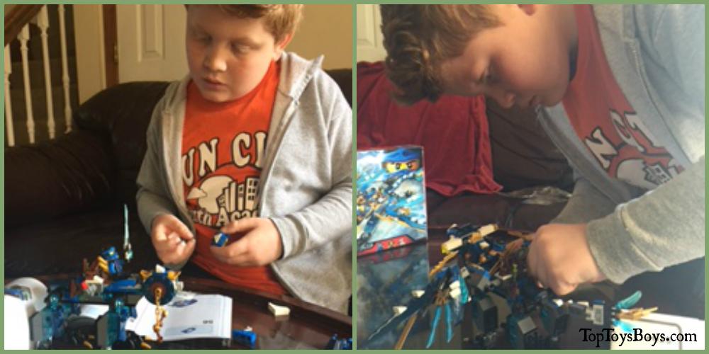 Lego Ninjago Jay's Elemental Dragon Review