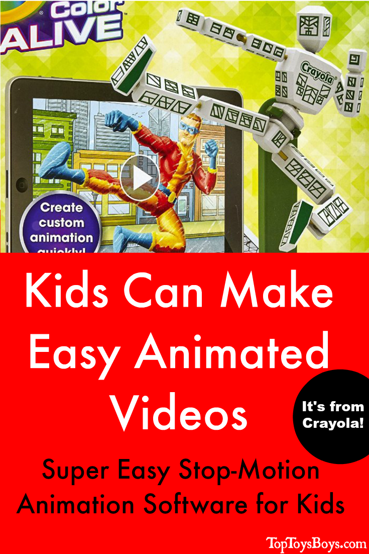 Kids Can Make Easy Animated Videos with a Mannequin and simple app