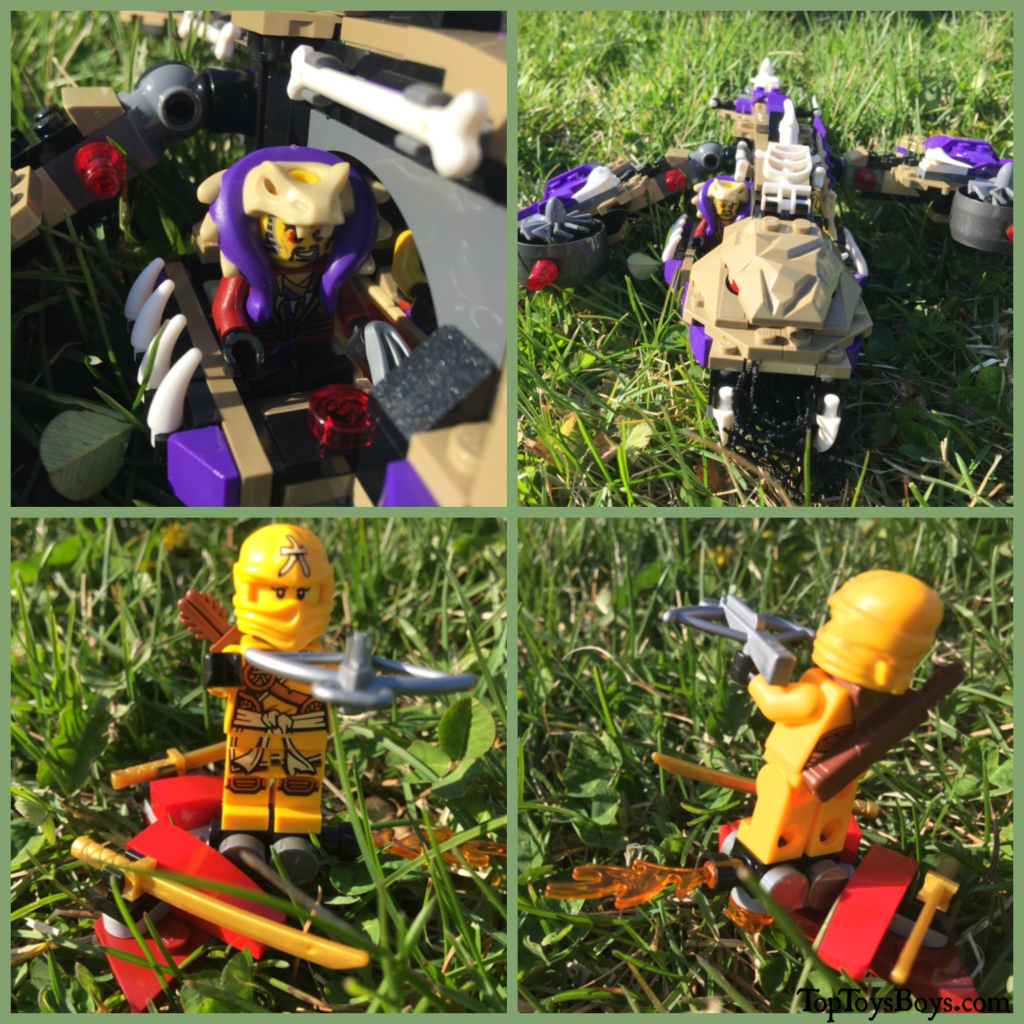 The Finished Product of the Lego Ninjago Copter Set2