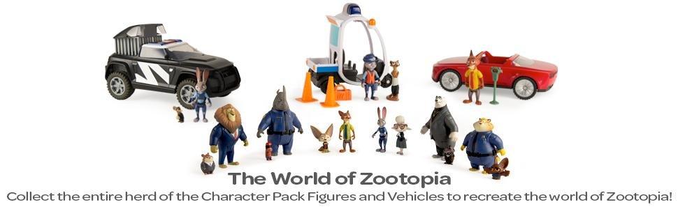 Zootopia Police Cruiser