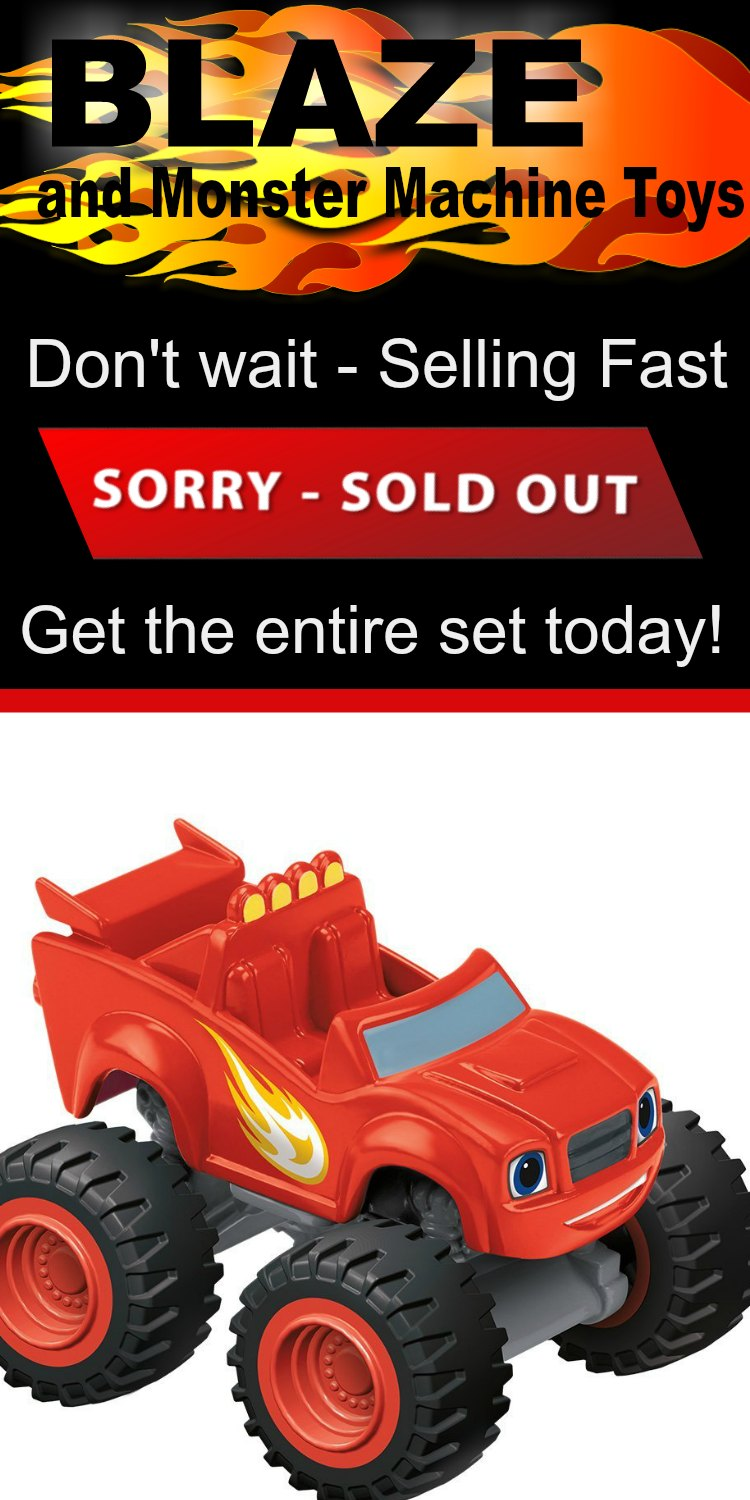 Blaze Monster Machines Die Cast - These are getting impossible to find in town and online. Grab the entire set before they sell out.