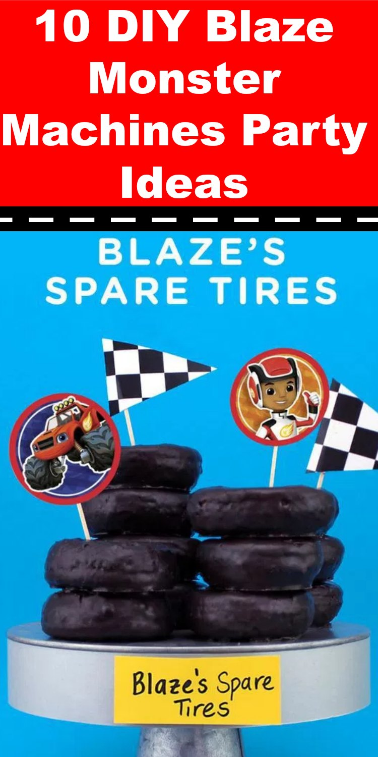 Blaze Monster Machines Party Ideas