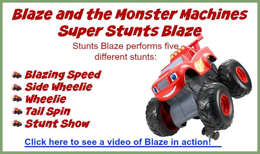 Blaze Stunt Truck Video