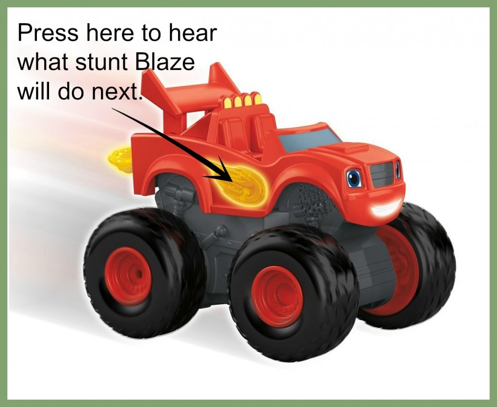 Blaze the Monster Machines Super Stunts Blaze