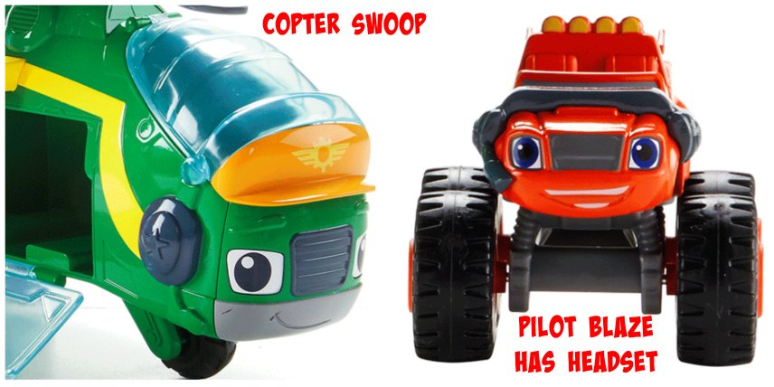Blaze Monster Copter Swoop Toy