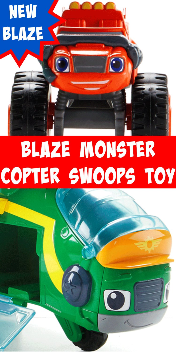 Blaze Monster Copter Swoops Toy. Brand new Blaze Truck and toy from Fisher Price. Your kids are going to want this!