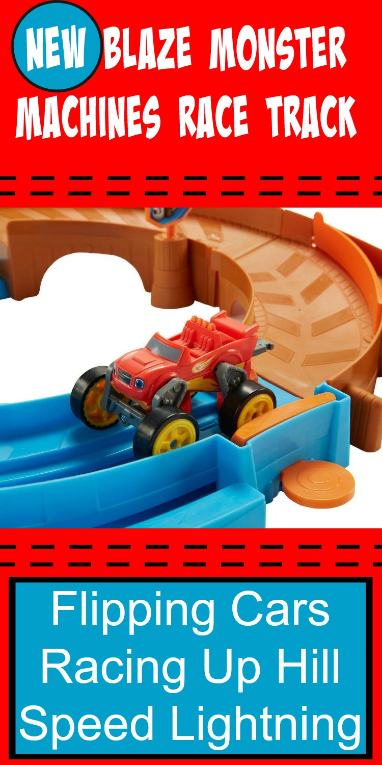 Blaze and the Monster Machines Race Track - Flip and Race Speedway. Be the first on your block to get it. It's brand NEW!