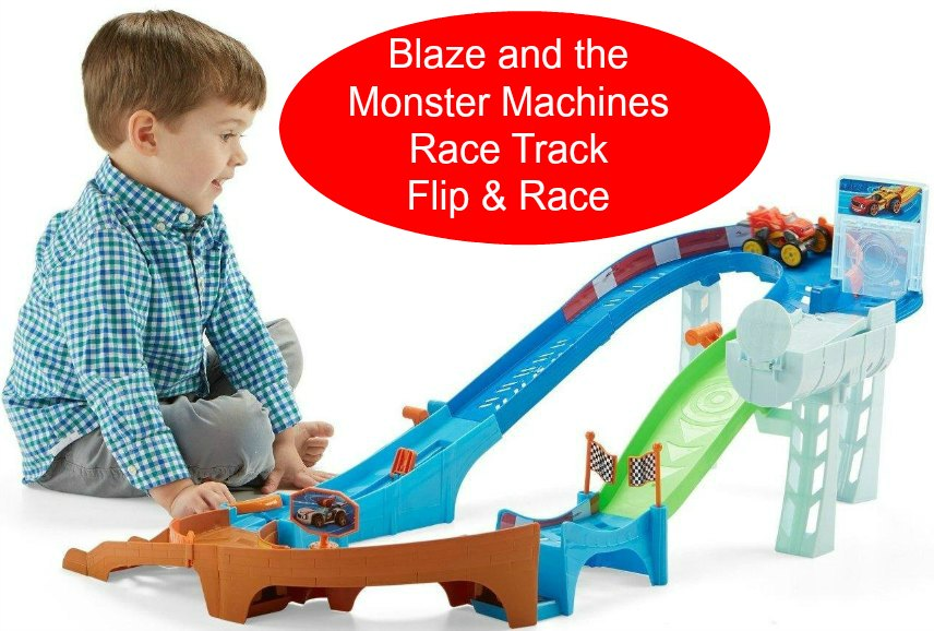 Blaze Monster Machines Race Track Toy