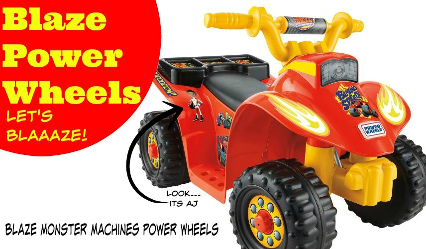 Blaze Power Wheels