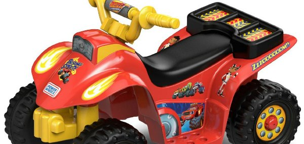 Blaze Power Wheels – 6 Volt Ride Toys for Toddlers