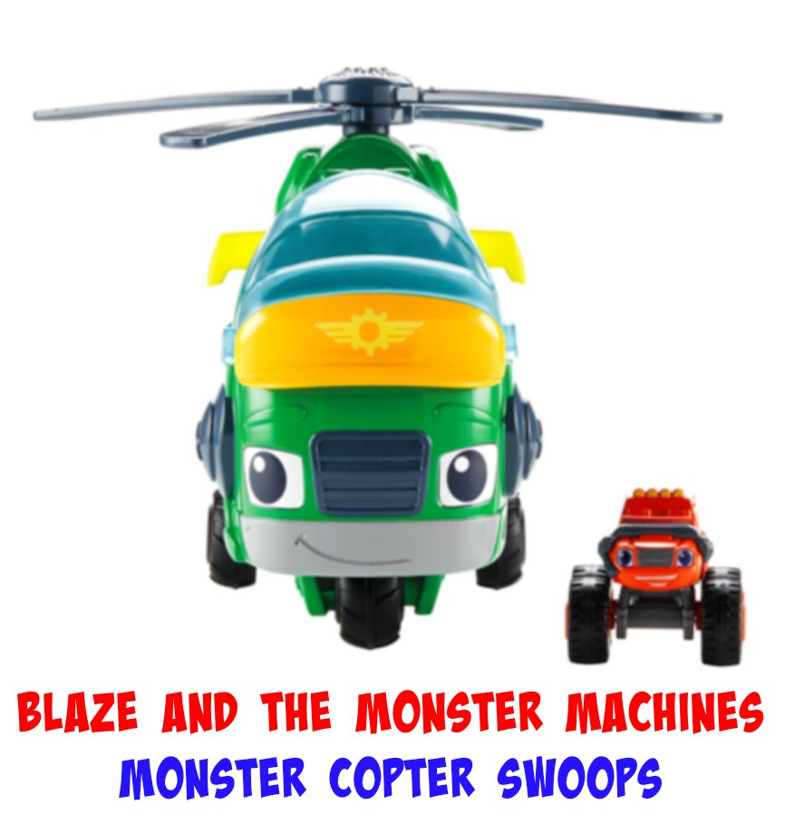 Blaze and the Monster Machines Monster Copter Swoops