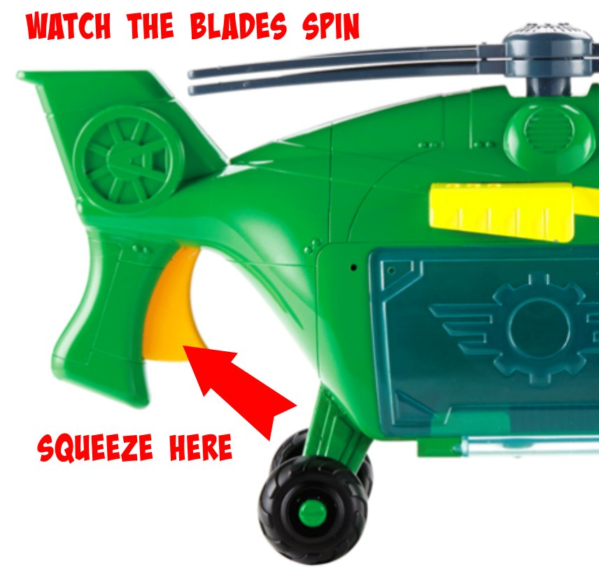 Monster Copter Swoops Toy