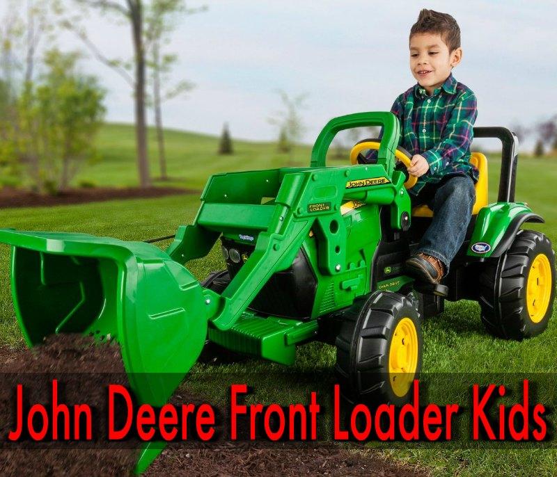 John Deere Front Loader Kids
