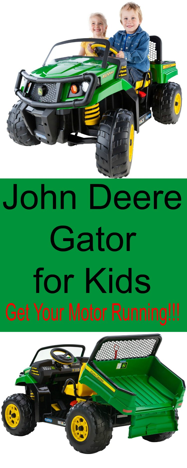 John Deere Gator for Kids