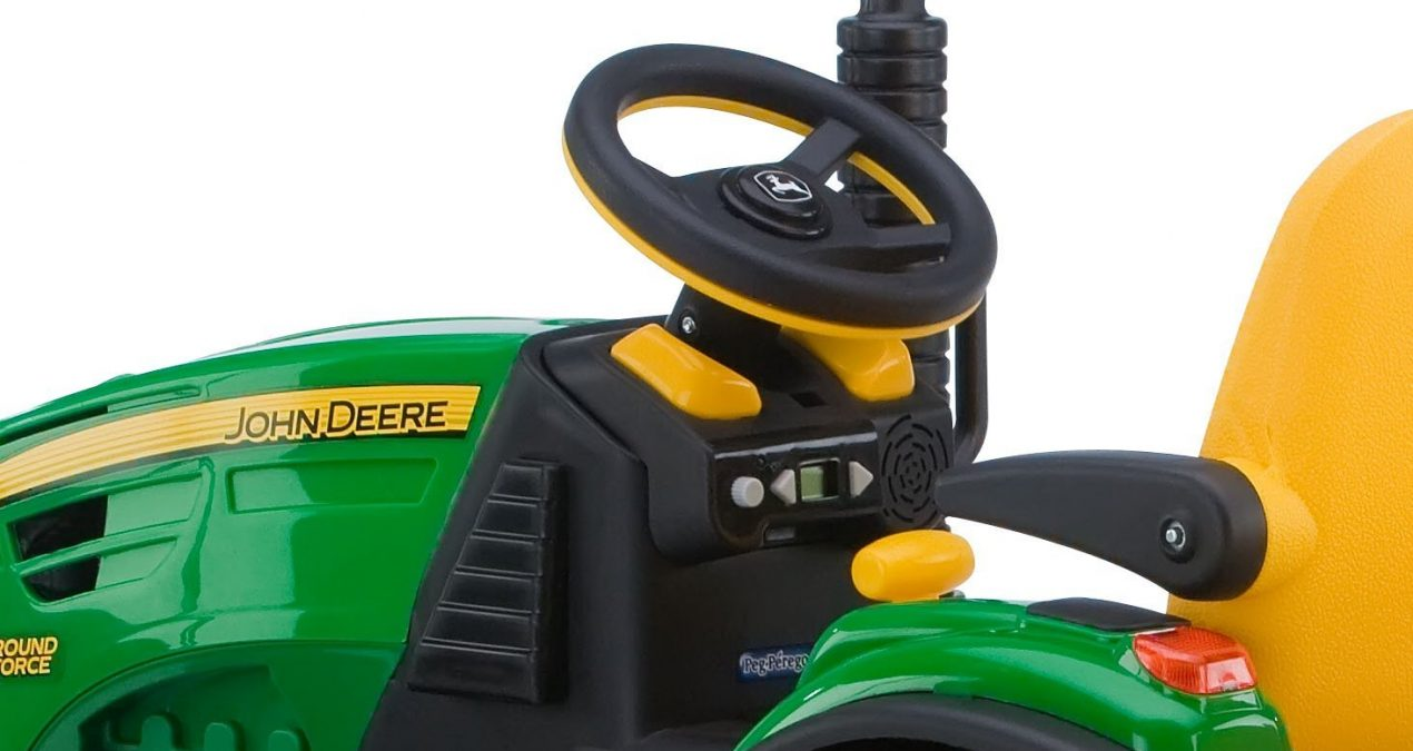 John Deere Kids Ride Tractor | Backyard Tractor Fun