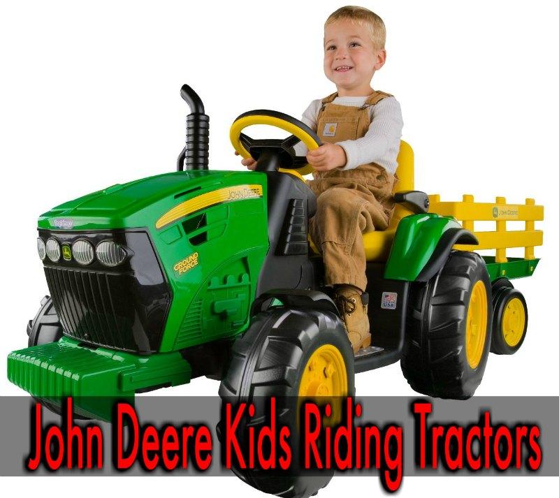 John Deere Kids Riding Tractor
