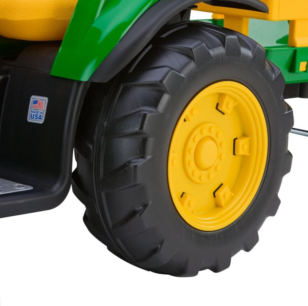 Tire Traction for the John Deere Tractors Toys for Kid