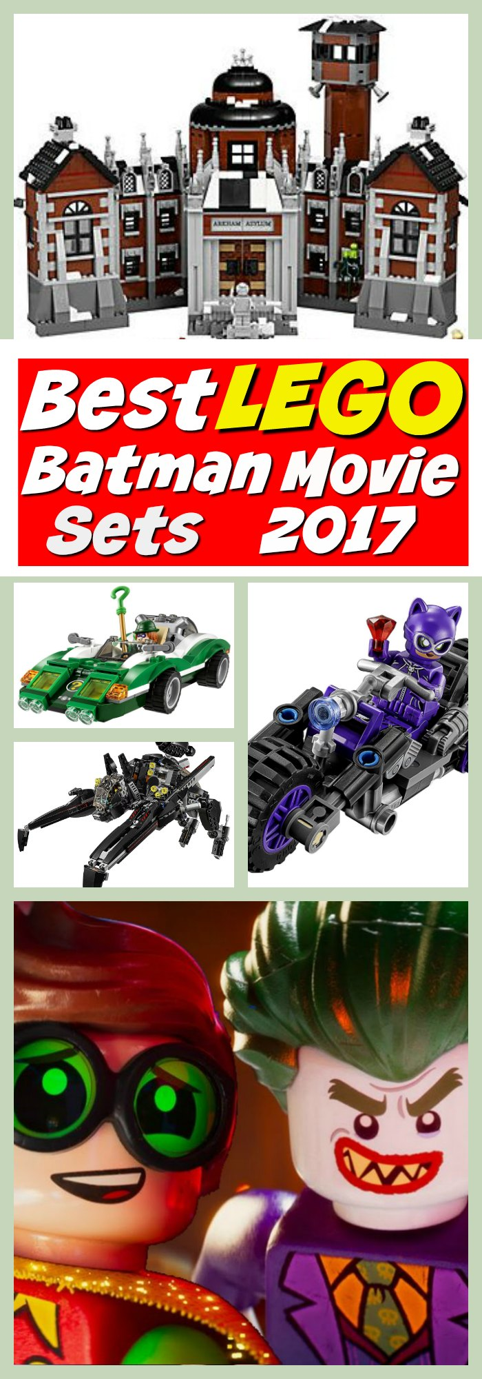 Best LEGO Batman Movie Sets 2017