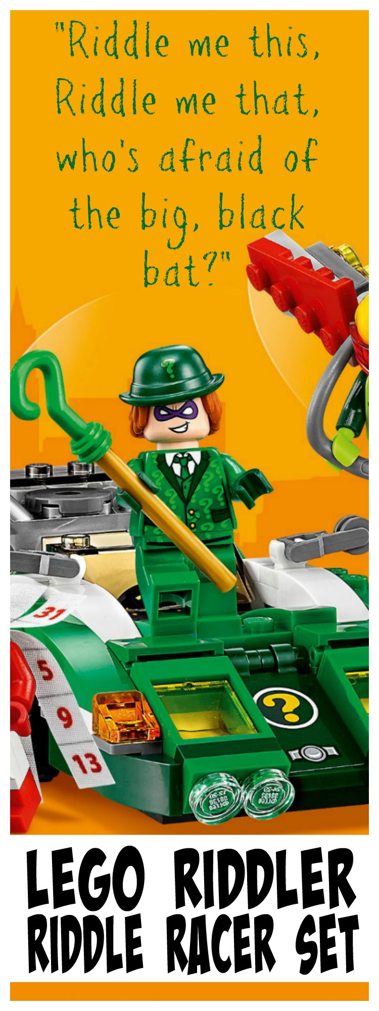 Lego Batman Movie Sets The Riddler Riddle Racer