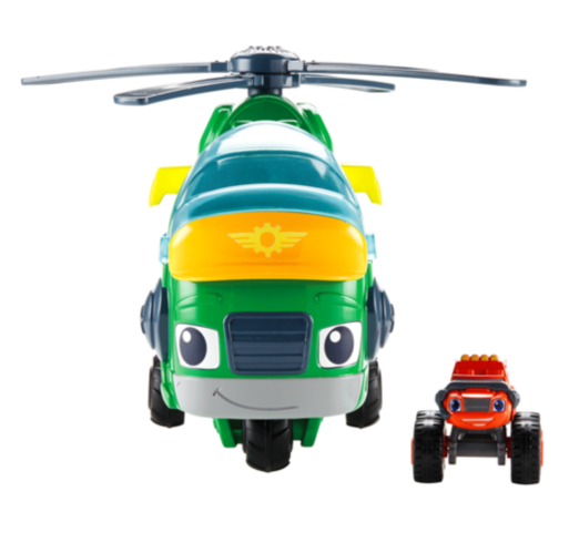 Meet Blaze Monster Copter Swoops Toy | New Blaze Toy in Town