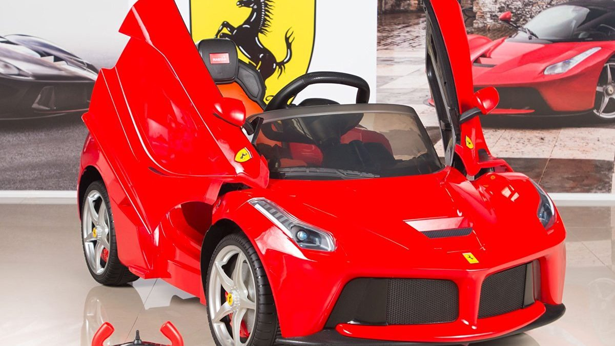 Ferrari Electric Ride On Car – Luxury Cars for Kids