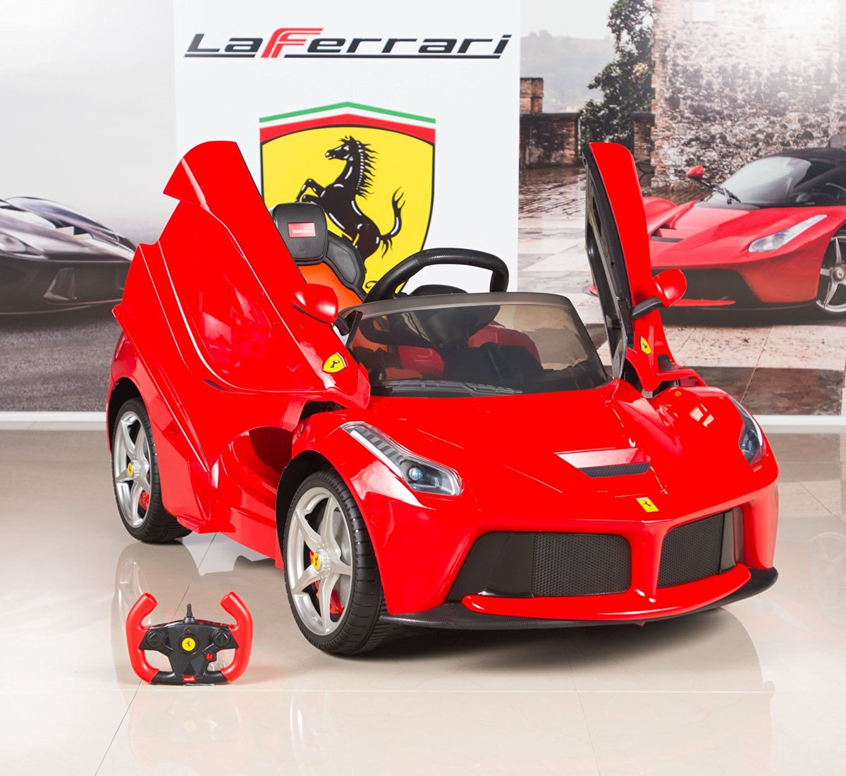 Ferrari Electric Ride On Car - Luxury Cars for Kids