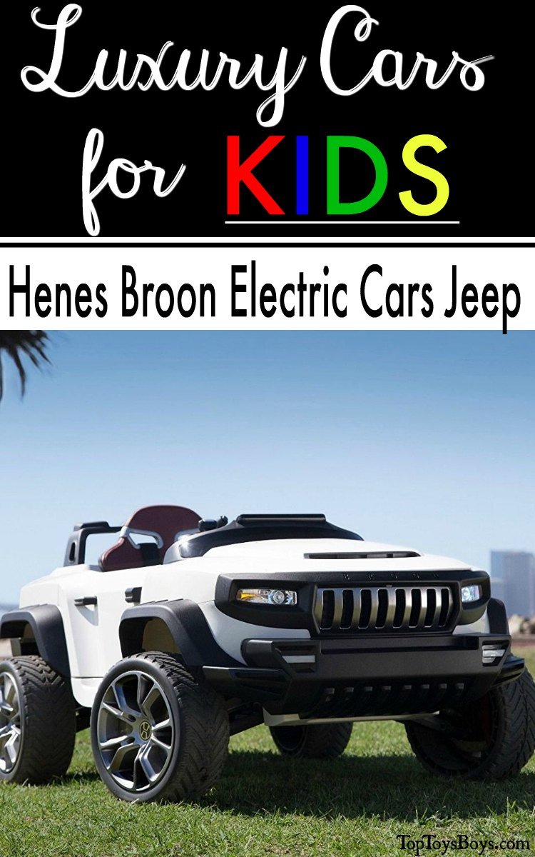 Henes Broon Electric Cars Jeep