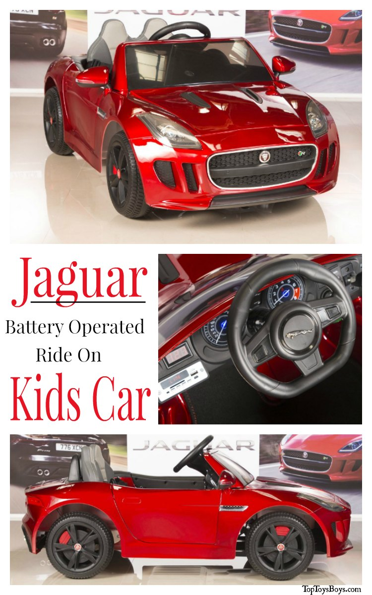 Jaguar Battery Operated Kids Ride On Car